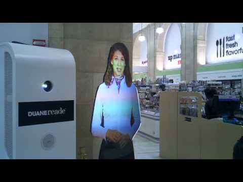 Hologram in Duane Reade - Wall Street