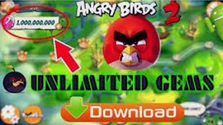 Angry birds 2 mod apk download for iOS and Android both ll unlimited everything ll latest version ll