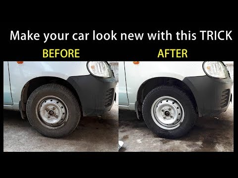 Super Fast Tyre Cleaning - DIY