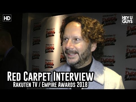 Ram Bergman on The Last Jedi journey - Empire Awards 2018 Red Carpet Interview