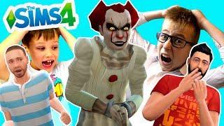 Мисс Кэти и Мистер Макс в реальной жизни СИМС 4 Новая серия Клоун ОНО Город блогеров Sims Мы играем