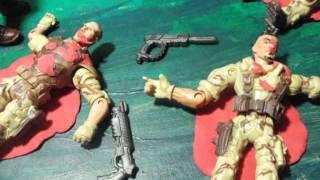 La venganza del soldado caminante -stop motion-