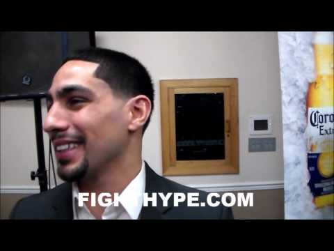 DANNY GARCIA UNIMPRESSED WITH KEITH THURMAN; SAYS AMIR KHAN BETTER AND MATTHYSSE MORE DANGEROUS