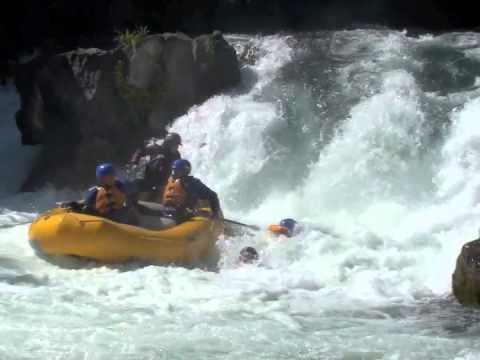 Carnage 2013 White Salmon River Rafting Husum Falls whitewater FAIL accidents oops