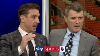 Gary Neville and Roy Keane discuss how important staying grounded is to a footballer's success