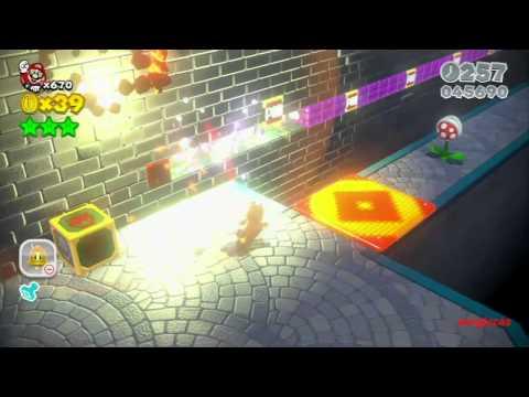 Guia Super Mario 3D World 100% (5 estrellas) Mundo 5
