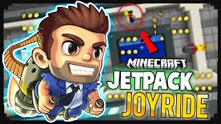 Jetpack Joyride + Minecraft = This