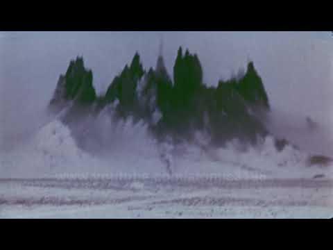 HD USSR  Lake creating Underground Nuclear testing ID;Chagan
