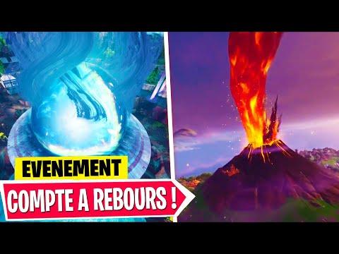 🔴compte-a-rebours-avant-l'Éruption-du-volcan-a-21h-sur-fortnite-!-ÉvÉnement-saison-8,-rip-tilted...