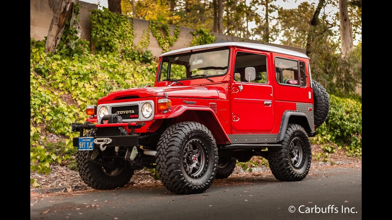 All Toyota Vehicles >> 1979 Toyota BJ40 Land Cruiser - YouTube