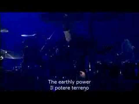 Come Talk To Me Peter Gabriel 2004 Live (with subtitles)
