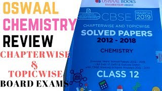 CHEMISTRY CBSE CHAPTER WISE TOPIC WISE QUESTION BANK REVIEW OSWAAL BOOK