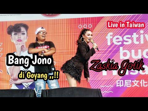 BANG JONO DI GOYANG ZASKIA GOTIK || TAIWAN