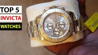Top 5 - Best Invicta Watches For men 2020 - Best watches on amazon 2020