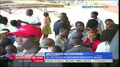 Kenya's Chief Justice Willy Mutunga holds final public discussion on his legacy in Korogocho slums