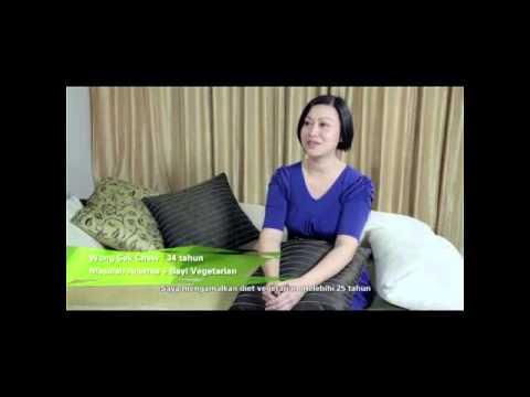Testimoni Spirulina Organik: Wong Sek Chew (Bayi Vegetarian)