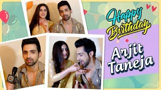Arjit Teneja Birthday CELEBRATIONS With Diana Khan On Sets Of Bahu Begum | EXCLUSIVE
