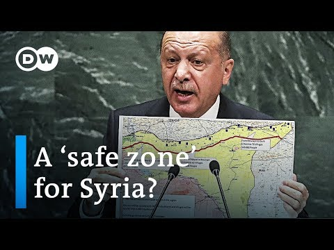 Turkey proposes a refugee 'safe zone' in northern Syria | DW News