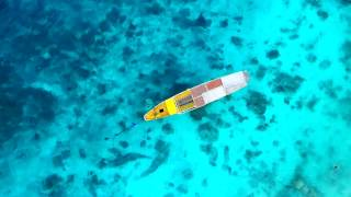 GILI ISLANDS, TRAWANGAN, LOMBOK, INDONESIA 2016. AERIAL VIDEO. DJI PHANTOM 3