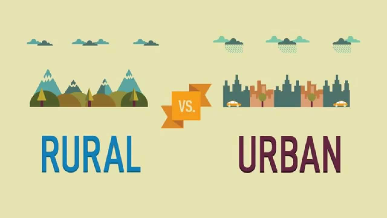 urban vs rural education Health care service use differs the rural population is consistently less well-off than the urban population with respect to health differences between the two populations are not always.