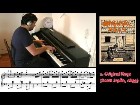 Ragtime Piano TOP50 Megamix