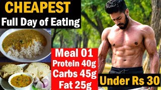 Full Day of Eating   Muscle Building   Indian Bodybuilding Diet
