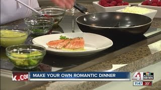 Make your own romantic 3-course dinner for Valentine's Day