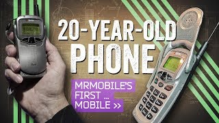Cell Phone Reviews - Retro Review: My First Mobile Phone!