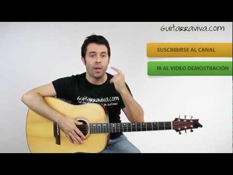Como tocar guitarra FLACA ANDRES CALAMARO GUITARRA TUTORIAL FACIL criolla acústica  guitarraviva