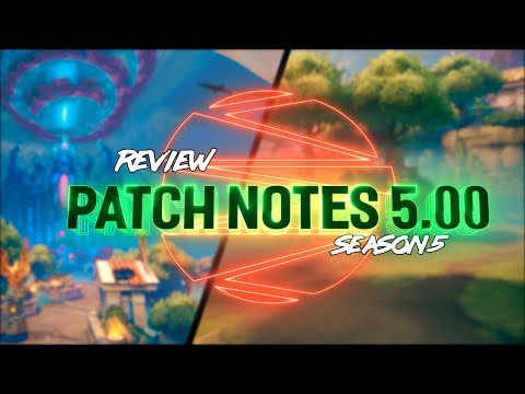 SMITE SEASON 5 FULL LENGTH PATCH NOTES SHOW!!! - Incon