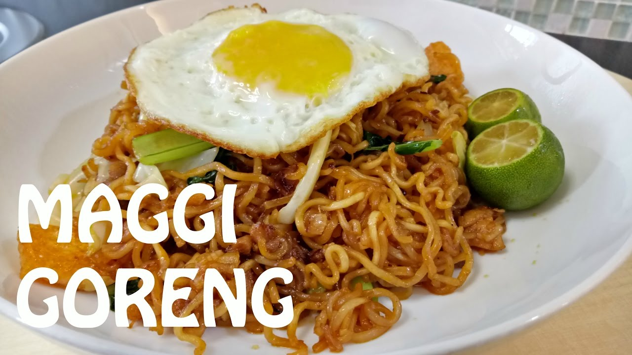 How To Cook Fried Instant Noodles Cara Masak Maggi Goreng