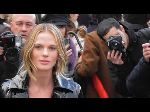 Anne Vyalitsyna @ Paris 4 march 2018 Fashion Week show Valentino / mars #PFW