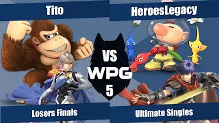 WPG 5 | Tito (Corrin, Donkey Kong) v HeroesLegacy (Ike, Olimar) | Losers Finals
