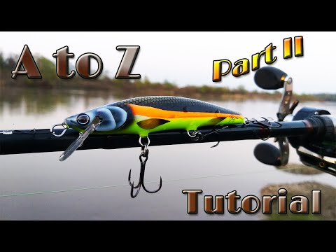Lure Building Tutorial From A To Z. Pike Minnow Jerk Bait - Part II
