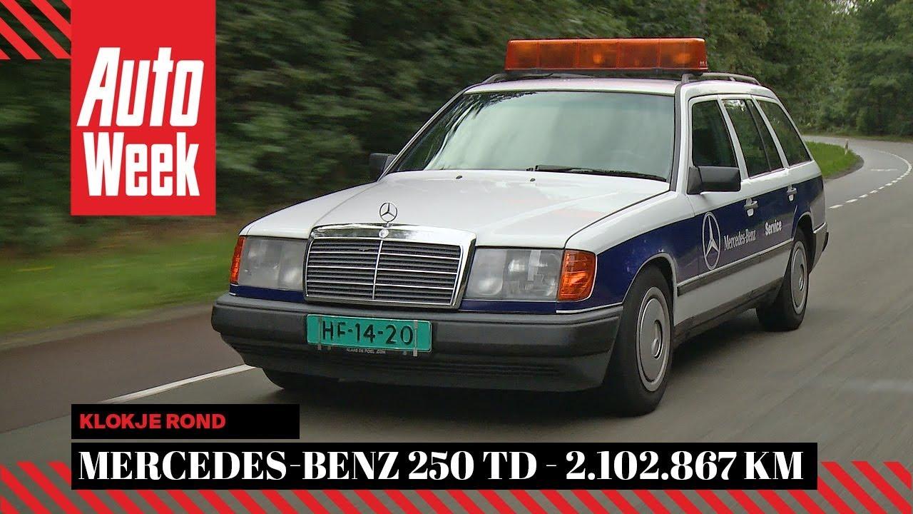 Mercedes Benz 250td W124 1986 2 102 867 Km Autoweek Klokje