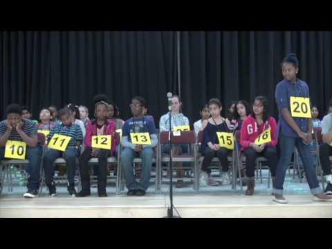 Fulton County Schools Spelling Bee 2017