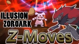 Can Zoroark Use a Z-Move Disguised As a Mega Evolution In Pokemon Sun and Moon?