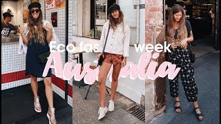 WEEK IN OUTFITS | What I Wore at Eco Fashion Week Australia