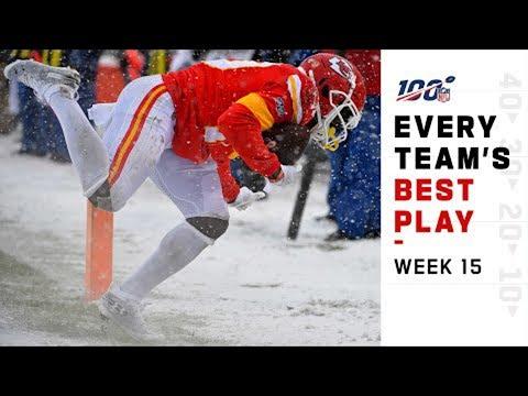 Every Team's Best Play of Week 15!