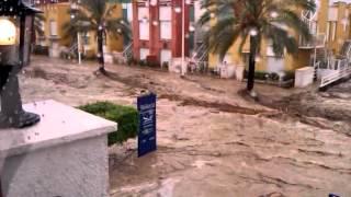 Inundación Vera Playa - Pueblo Laguna 28-09-2012 Parte 4 Hora: 11:42 am