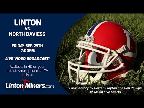 Linton Miners vs. North Daviess - Sep. 25, 2015 [Football]