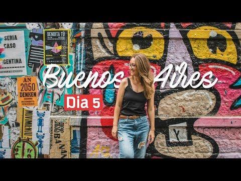 PALERMO, O Bairro Mais ARTÍSTICO De BUENOS AIRES | Arte De Rua + Parques + El Rosedal