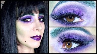 Witchy Woman Halloween Makeup ft Sugarpill & Lime Crime Thumbnail