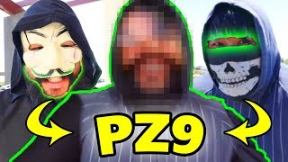 PZ9 FACE REVEAL - SNEAK PEEK ( Chad Wild Clay Vy Qwaint)
