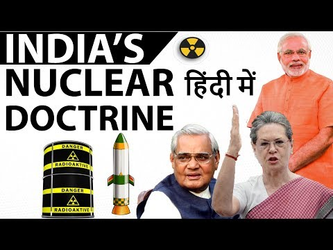 India's Nuclear Doctrine and Policy - Threats and Capabiliti