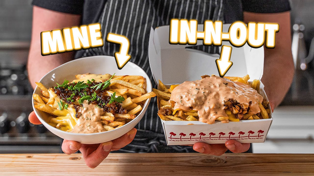 In-N-Out Animal Style Fries But Better