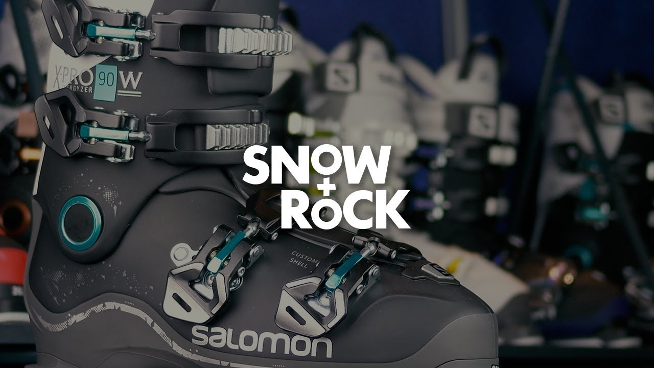 Salomon X Pro 90 W 2018 Ski Boot Overview by Snow+Rock