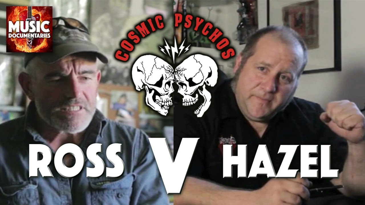 COSMIC PSYCHOS | Interview | Ross Vs Hazel