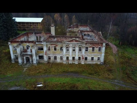 Russia's pre-Revolutionary estates crumble in neglect