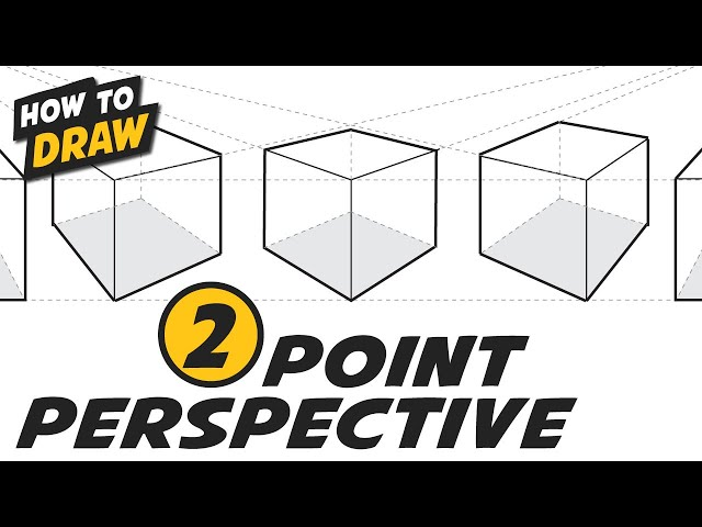 Two (2) Point Perspective - Simple Step By Step